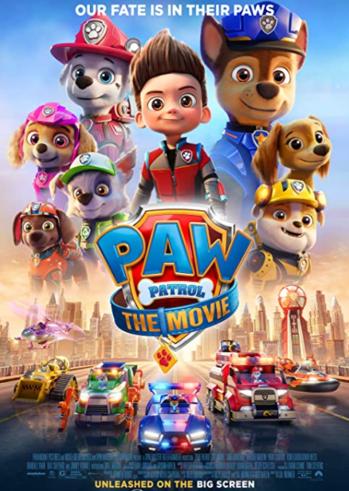 """Προβολή Ταινίας """"Paw Patrol: The Movie"""" στο Cine Kastro"""