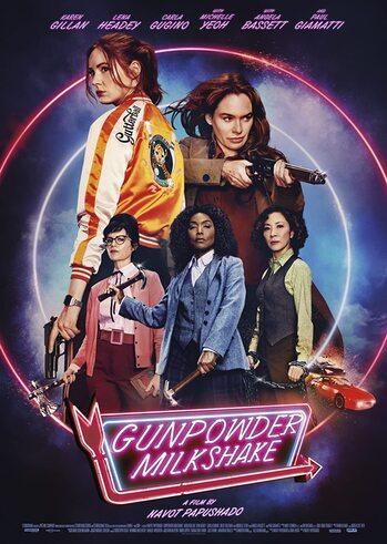 """Προβολή Ταινίας """"Gunpowder Milkshake"""" στην Odeon Entertainment"""