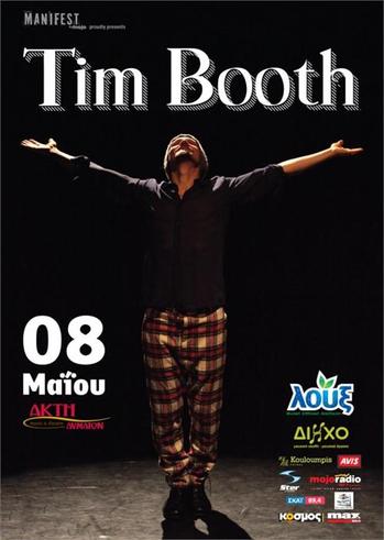 Tim Booth Live @ Akti Dimaion