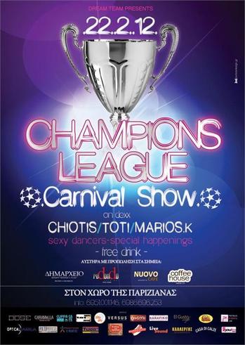 Champions League Party @ Pariziana