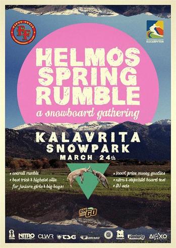 HELMOS SPRING RUMBLE @ Χιονοδρομικό Κέντρο Καλαβρύτων