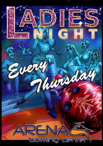 Ladies Night every Thursday @ Arena Bowling Center