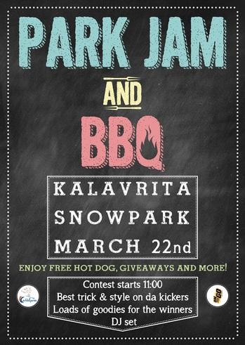 Park Jam & BBQ @ Χιονοδρομικό Καλαβρύτων