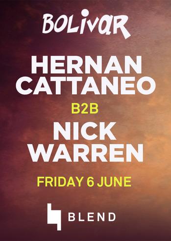 Hernan Cattaneo with Nick Warren @ Bolivar Beach Bar