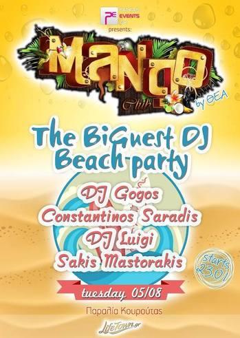 The Bi Guest Dj Beach Party @ Mango