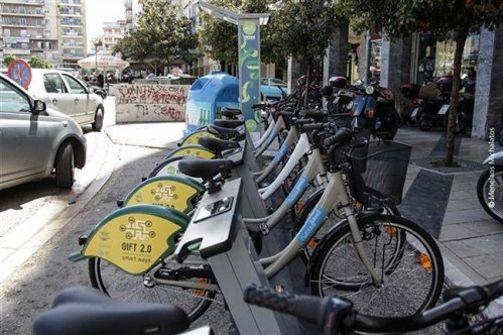 Πάτρα: «Καμπανάκι»  κινδύνου για το Σύστημα Κοινόχρηστων Ποδηλάτων