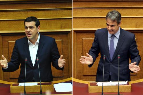 Προβάδισμα 13 μονάδων για τη ΝΔ έναντι του ΣΥΡΙΖΑ