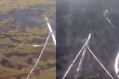 Ανατριχιαστικό βίντεο - Η πτώση του ελικοπτέρου στον Σχοινιά μεταδιδόταν live στο Facebook!