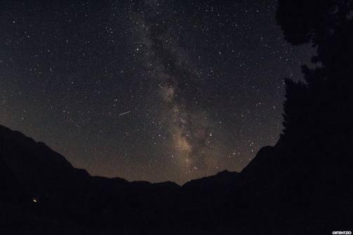 Όταν η νύχτα μαζί με τα άστρα της «κατέβηκαν» στις πλαγιές του Ερυμάνθου!