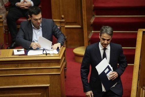 Νέα δημοσκόπηση - 10 μονάδες μπροστά η ΝΔ από τον ΣΥΡΙΖΑ