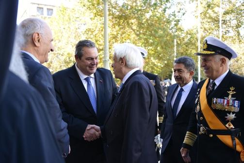 Ο Πάνος Καμμένος παρευρέθηκε στις εκδηλώσεις για την ημέρα των ενόπλων δυνάμεων (pics)