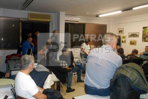 Πάτρα: Πάνε για σύμπλευση και συγκλίσεις στον ΣΚΕΑΝΑ με κλίμα ομοψυχίας