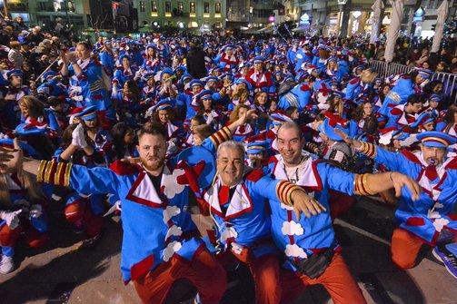 Πόλος έλξης η Πάτρα τις μέρες του καρναβαλιού - Αύξηση των επισκεπτών