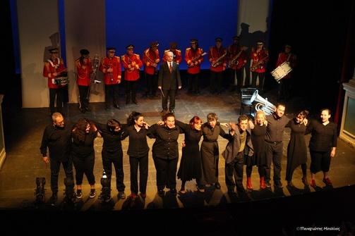 Πάτρα - Φίλοι του θεάτρου παρακολούθησαν την παράσταση 'Οι Τόποι είναι ήχοι' (φωτο)