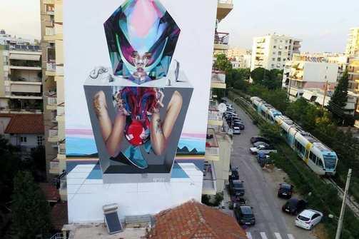 'Sin & Sensibility'' - Ο Apset μιλάει για το graffiti που ζωγράφισε σε ένα γκρίζο τοίχο της Πάτρας! (video)