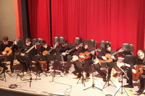 'Νοσταλγικό Οδοιπορικό'... Μια συναυλία της Κιθαριστικής Ορχήστρας Πατρών!