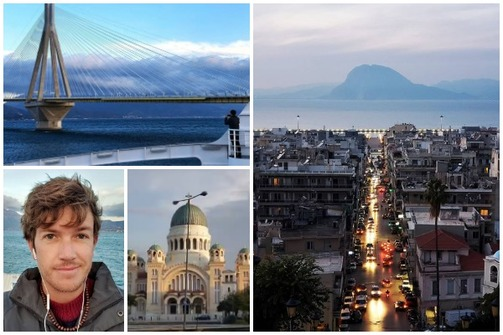 Zak Wright - Το οδοιπορικό ενός νεαρού τουρίστα στην Πάτρα! (φωτο+video)