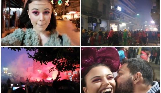 Η El Blossom ήρθε μόνη της στο καρναβάλι της Πάτρας για να... χαλαρώσει 3a8f6fcb7e4