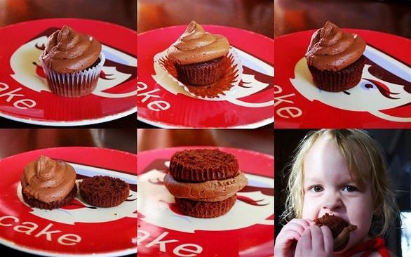 Ο κατάλληλος τρόπος για να φάτε ένα cupcake (pic)