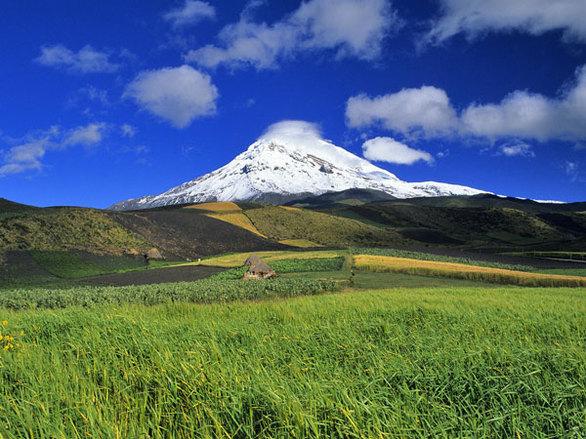 Βουνό Chiborazo (Ισημερινός) Ύψος: 6.310 μέτρα πάνω από το επίπεδο της θάλασσας