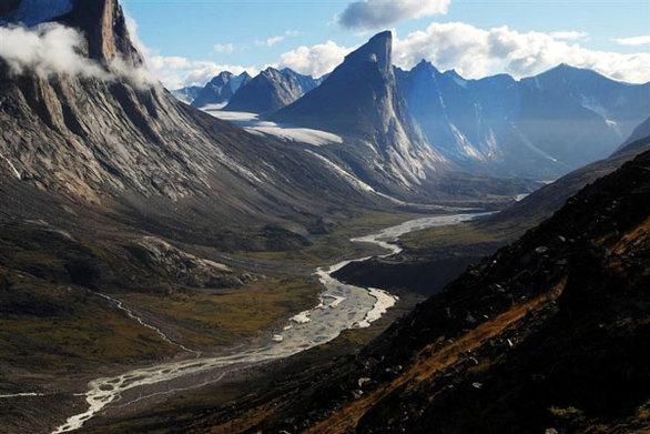 Βουνό Thor (Καναδάς) Μήκος πλαγιάς: 1.250 μέτρα