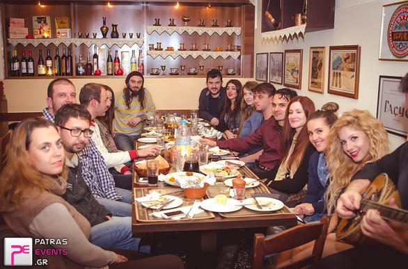 Δοκιμάζοντας πολίτικη κουζίνα έκοψε την πίτα του, το patrasevents.gr!
