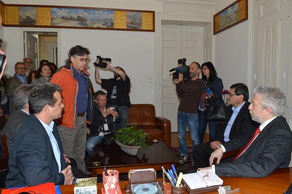 Πάτρα: Επίθεση του Σταύρου Κοντονή στην προηγούμενη Διοίκηση του ΠΕΑΚ (pics)