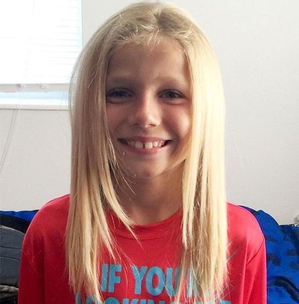 Μικρό αγόρι δώρισε τα μαλλιά του για να βοηθήσει παιδιά με καρκίνο (pics)