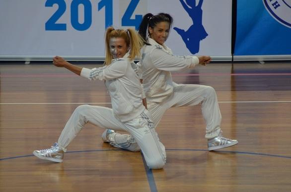Ξεχωρίζουν οι «Αμαζόνες» στο 4ο Πανελλήνιο Πρωτάθλημα Cheerleading (pics)
