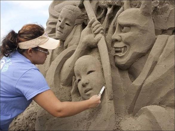 Απίστευτα έργα τέχνης από... άμμο! (pics)