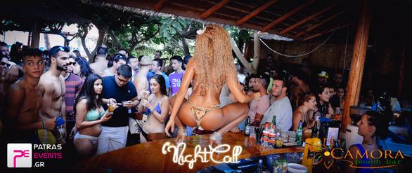 Night Call στο Camora Beach Bar 08-08-15 Part 2/4