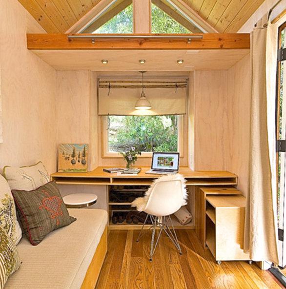 """Το μικροσκοπικό σπίτι """"παλατάκι"""" των 14 τετραγωνικών (pics+video)"""