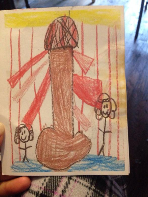 Παιδικές ζωγραφιές που προκαλούν... αμηχανία (pics)