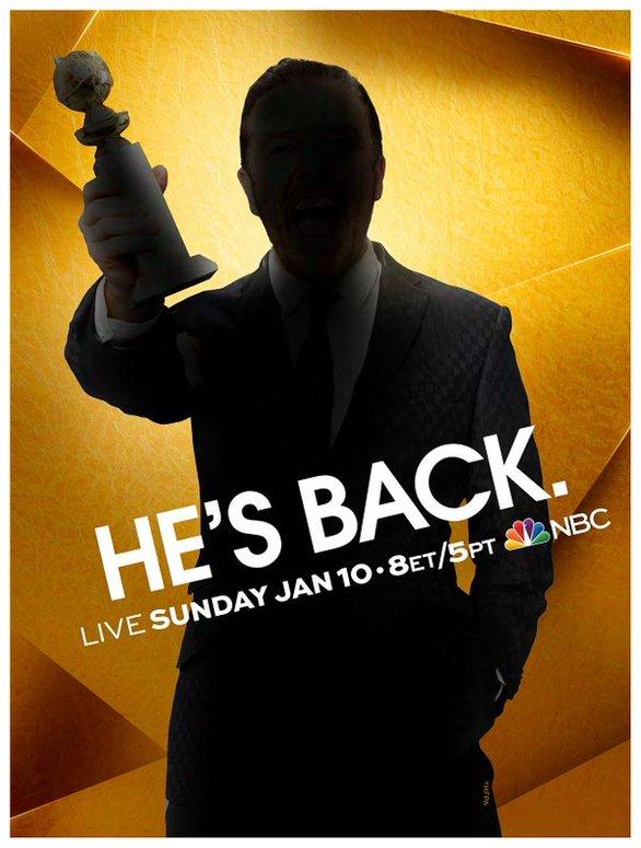Ρίκι Τζερβές: Ο Βρετανός κωμικός που θα παρουσιάσει τις Χρυσές Σφαίρες (pic)