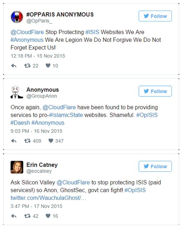 Οι Anonymous κατηγορούν εταιρία ότι προτατεύει το ISIS (pic)