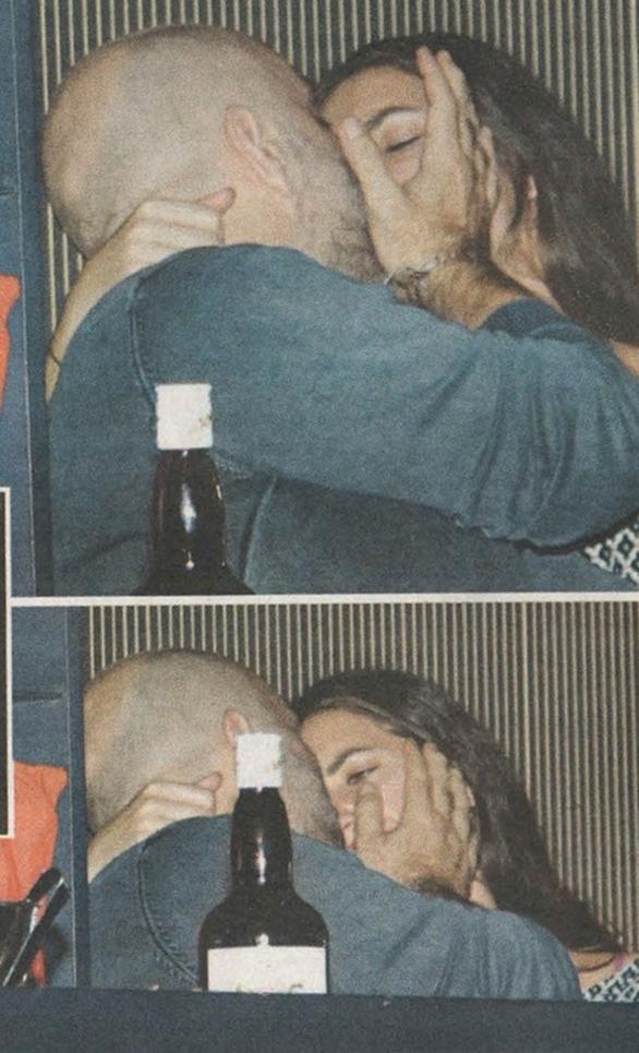 Τα ''καυτά'' φιλιά του Μπάμπη Στόκα με τη νέα του σύντροφο (pics)