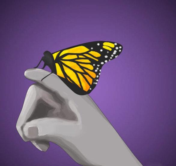 Πολλοί είναι αυτοί που πιστεύουν, ότι οι αγαπημένοι μας που έχουν πεθάνει θα πάρουν την μορφή κάποιου ζώου, για να μπορέσουν να μας πλησιάσουν.  Αν για παράδειγμα σας τραβήξει την προσοχή μια πεταλούδα ή ένα πουλί, μπορεί να είναι επειδή διακρίνετε κάτι οικείο σε αυτό το ζώο.  Επίσης, αν κάποιο ζώο που συνήθως είναι φοβισμένο, προσπαθήσει να σας πλησιάσει, είναι ισχυρός δείκτης, ότι ο αγαπημένος σας προσπαθεί να επικοινωνήσει μαζί σας