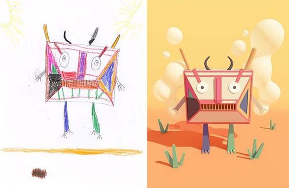 Μια ομάδα καλλιτεχνών δίνει ζωή σε παιδικές ζωγραφιές! (pics)