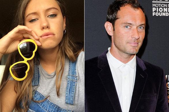 Η 15χρονη κόρη του Jude Law βγαίνει στις πασαρέλες (pics)