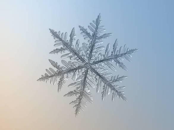 Πόση λεπτομέρεια κρύβει ο σχηματισμός μιας χιονονιφάδας (pics)