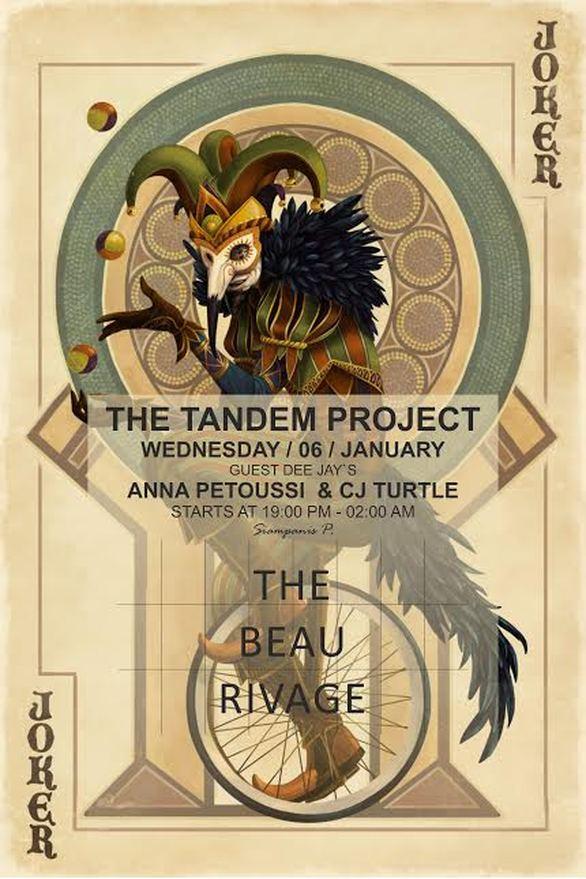Σε λίγες ώρες... The Tandem Project στο Beau Rivage!