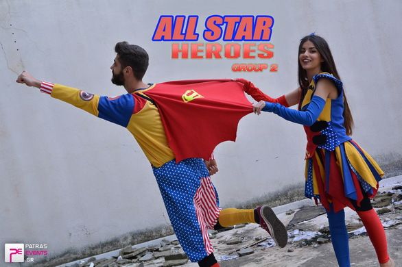Group 2: All Star Heroes