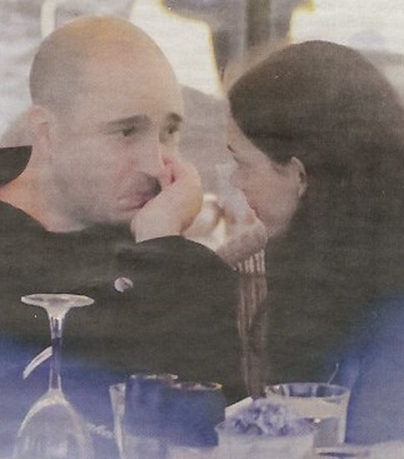 Κωνσταντίνος Μπογδάνος: Ρομαντικό διήμερο με την σύντροφό του στη Θεσσαλονίκη (pics)