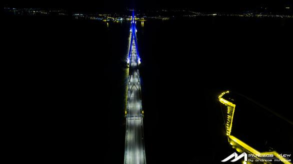 Μια νύχτα πάνω από την Γέφυρα Ρίου - Αντιρρίου!