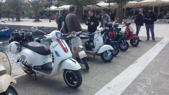 """Οι """"Σφήκες"""" πήγαν Ναύπλιο - Εκεί και το Vespa Club Achaias! (φωτο+video)"""