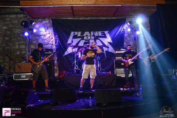 Planet Of Zeus Live στην Αίθουσα Αίγλη 14-05-16 Part 1/3