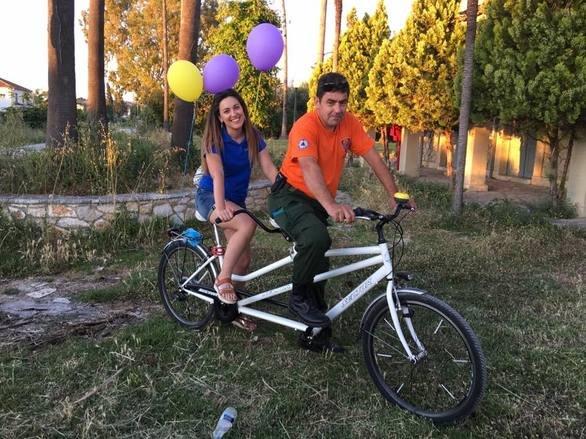 Βραχναίικα - Με μεγάλη συμμετοχή η ποδηλατάδα για το περιβάλλον! (φωτο+video)