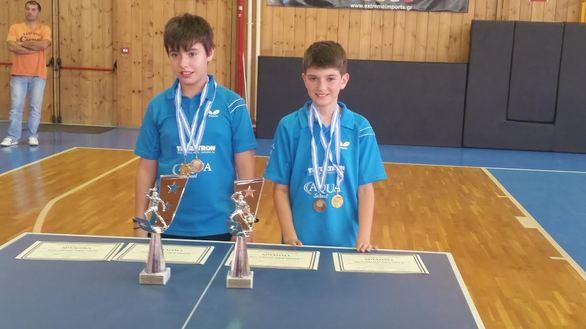 Πάτρα: Ολοκληρώθηκε το Πανελλήνιο Πρωτάθλημα παμπαίδων - παγκορασίδων στο Πινγκ Πονγκ (pics)
