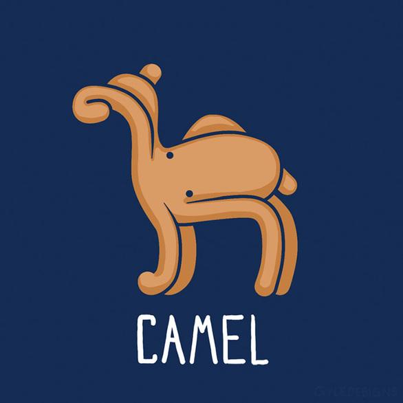 Σκιτσογράφος δημιούργησε από ένα χταπόδι... 12 διαφορετικά ζώα! (pics)