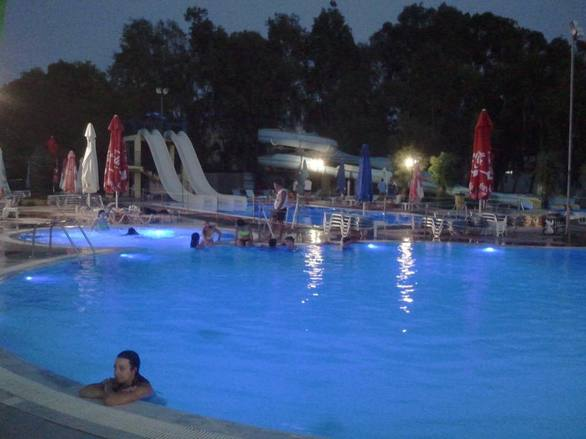 Night Pool Party at Neropolis